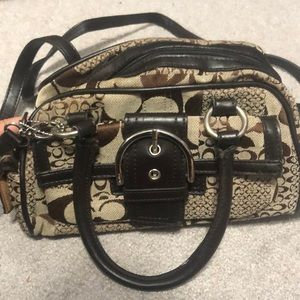 Coach shoulder or hand bag purse